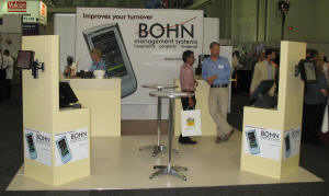 BOHN management systems' stand on Hostex 2010
